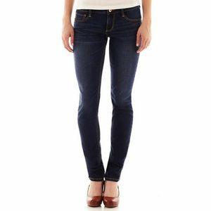 Arizona Jean Co Dark Wash Jegging Denim Jeans
